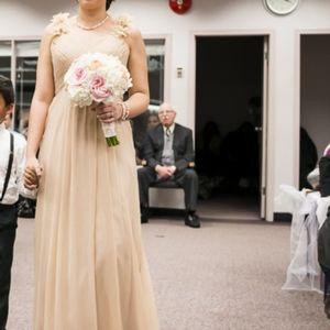 Greek Style Bridesmaid dress